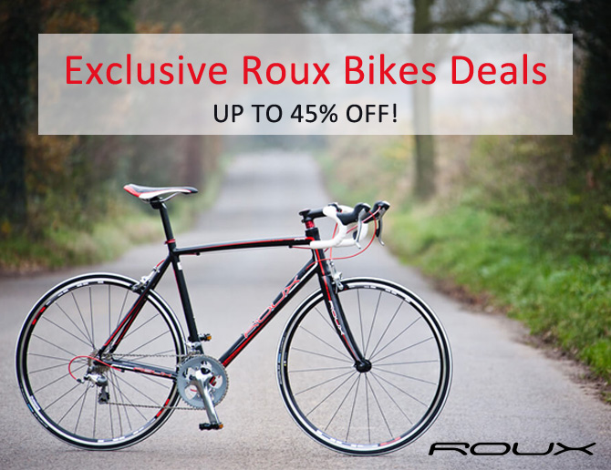 Exclusive Roux Bike Deals