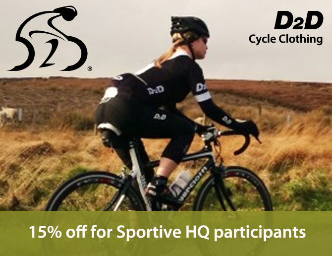 D2D Cycling Clothing Offer