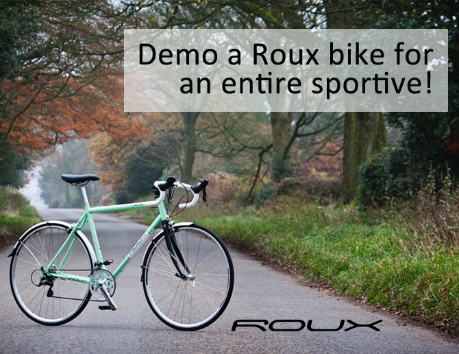 Demo a Roux bike for an entire sportive